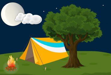 テント 370x250 - キャンプの際におすすめのおもしろい娯楽、ゲーム