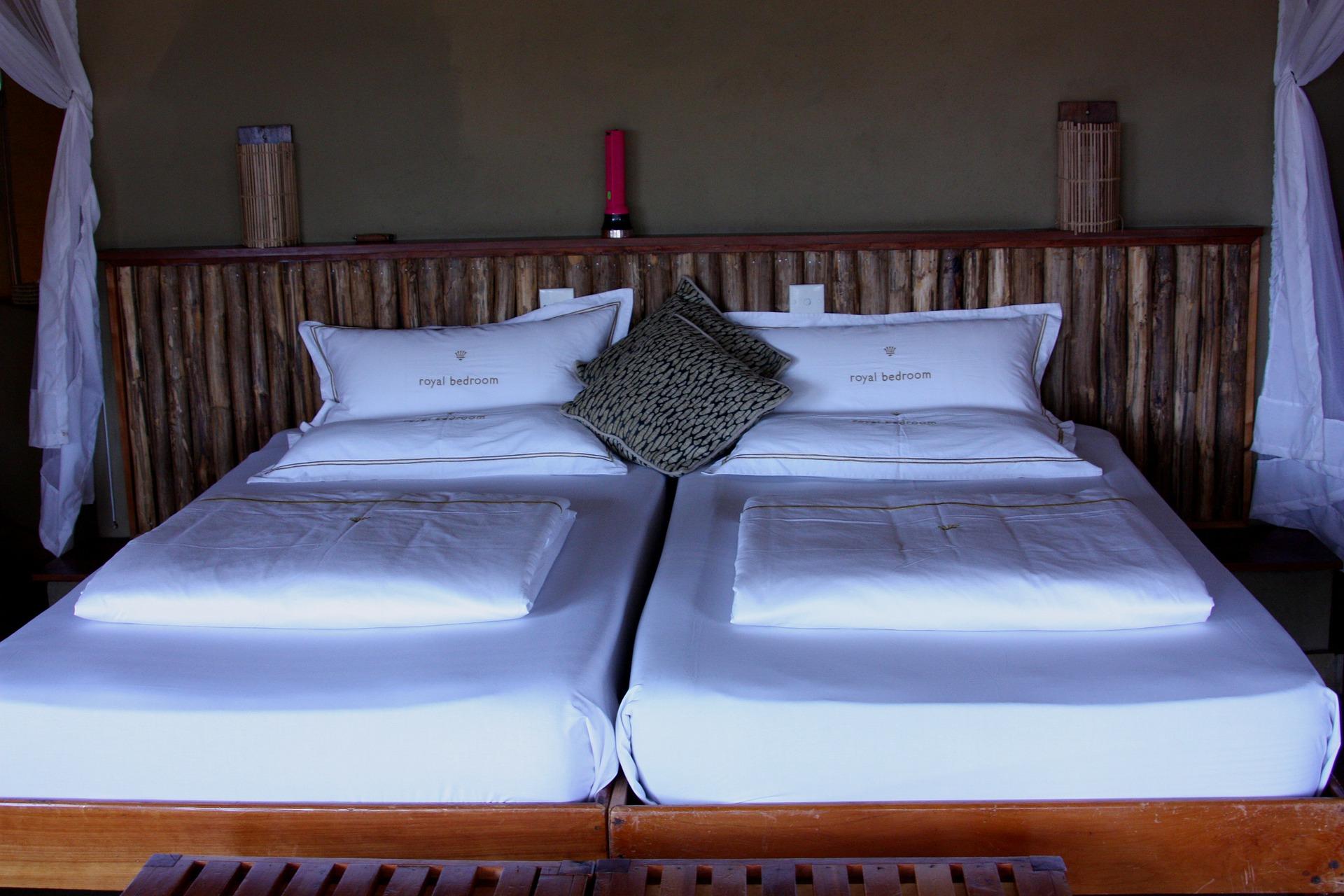 ベッド - 豪華なキャンプ~最上級の贅沢を楽しみたい方へ~