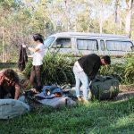 キャンプ荷物 150x150 - キャンピングカーに泊まる時のコツを紹介
